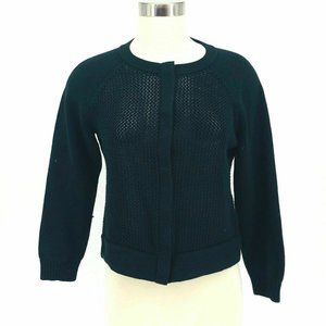 Banana Republic Cardigan Sweater Women Size M Text